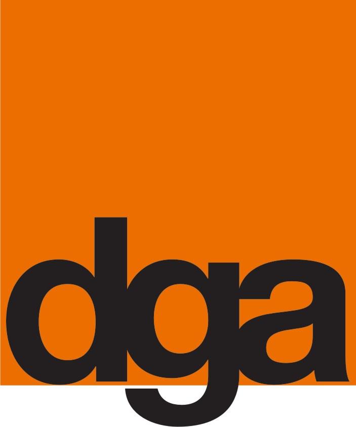 Das Logo der Firma DGA